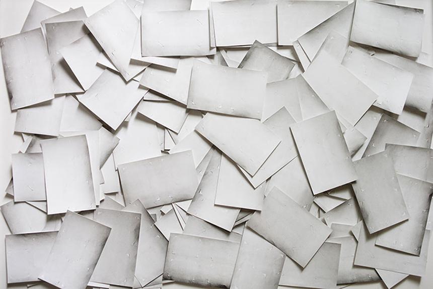 Hidden Paper (# 2) - 2010 / 2014